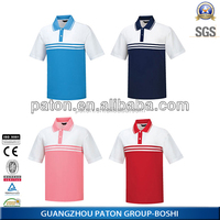 OEM service unisex polo t shirt 100 polyester polo shirts from China