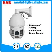 XM 8 LEDS Analog 1000TVL 18X optical zoom IR ptz camera outdoor over current protection