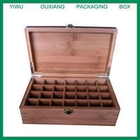 cheap design bamboo essential oil box