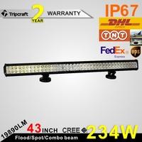 Best seller! 234W Led Truck Light Bar LED off road light bar For truck , heavy duty car