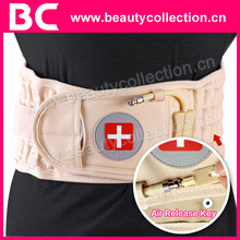 Bc-0905 vendedor caliente de la cintura descompresión volver cinturón aire depresión correa de tracción Lumbar