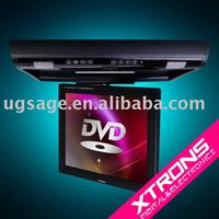 "15"" Roof Mounted IR FM Transmitter car DVD player car monitor"