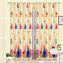PVC plastic window curtain anime pattern shower curtain