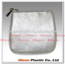 fashion small square silver white wallet