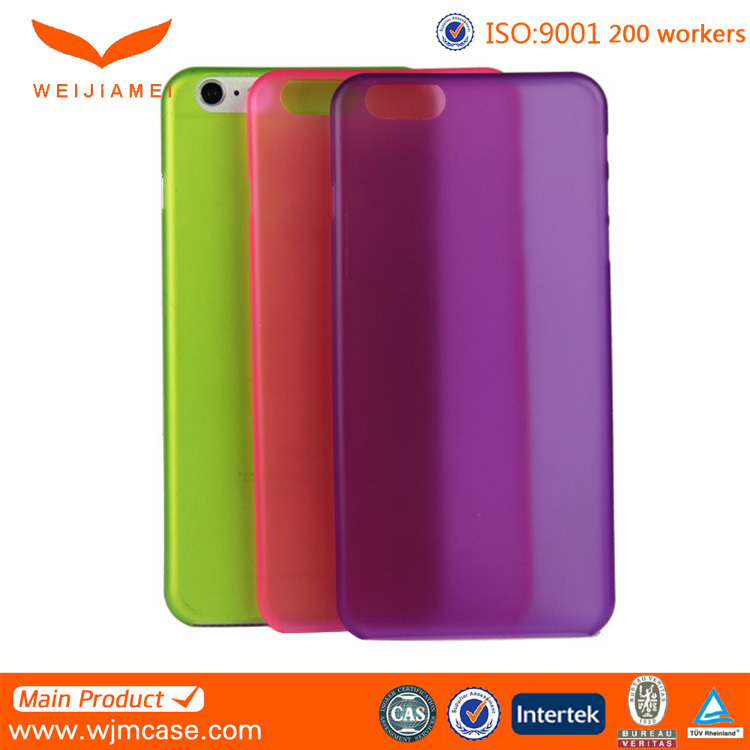 Hotsell OEM Designer Ultra Thin PP Mobile Phone Cover for Iphone 6, for IPhone 6 Plus