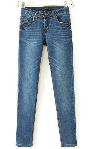 Womenu0026#39;s Fashion Casual Name Brand Jeans Best Quality 100% Cotton Ladies Jeans Made In China ...
