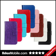 Hot Sale Mobile Phone Leather Flip Case for Sony Z1 Mini Mobile Phone Accessories