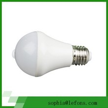 interior 5w small watts unique design led sensor bulb with emergency function