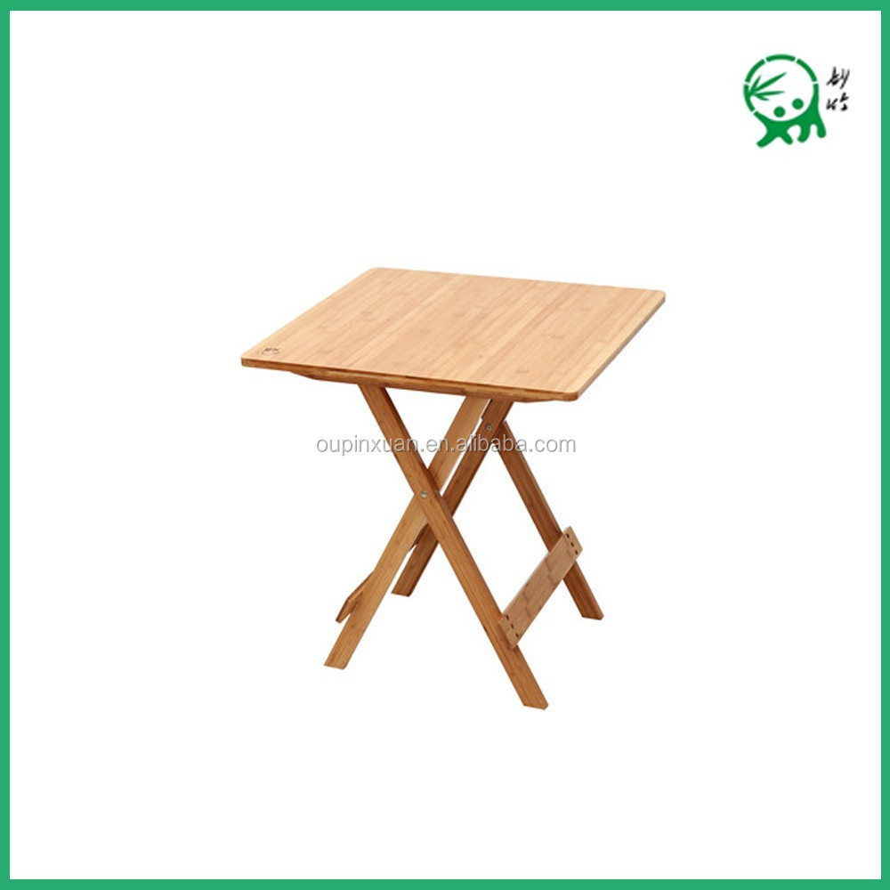 Outdoor Dining Table 100 Mboo Folding Dining Table Square Table