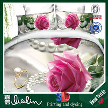 The wedding of four sets of Chun 3D plant flower bed sheets/frozen crib bedding set