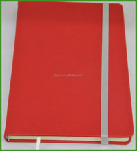 Leather Notebook with Elastic Band