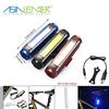 100% Lighting 50% Lighting and Flashing 3.7V Li-ion Battery Power Supply Aluminum 3w Cob Seatpost Flashing LED Light for Bike
