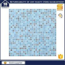 El último diseño de mosaico de vidrio de cristal