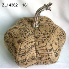 halloween decoration handmake artificial craft pumpkins