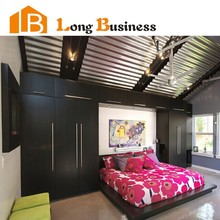 LB-AL3036 Best quality good looking bedroom large wardrobes with 4 doors
