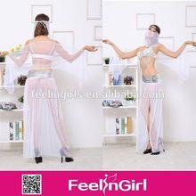 whoesale de nuevo diseño de la mujer árabe dancer traje