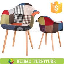 Meubles de salon coloré Patchwork fauteuil
