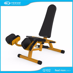 Gym Body Building Equipment in China Inner Thigh Abductor / Adductor Machine