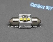 Festoon c5w light socket 3W/9W white color 31mm/36mm/39mm auto led lighting