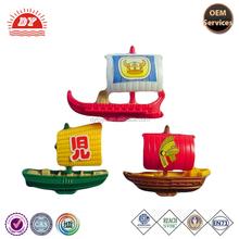 Ancient sailing ship model plastic boat toy