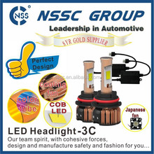 2015 auto parts car projector aluminum Led Head Light Bulb H4 H7 H8 H10 H13 H16 9004 9005 9006 9007 9012 Lamp with driver