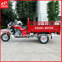 200CC Air cooled three wheek triciclo/ motor cycle/ cargo tricycle with cabin