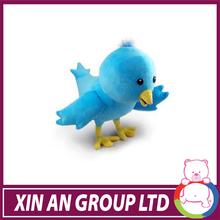 CE certificated plush stuffed animal wholesale custom plush bird toys