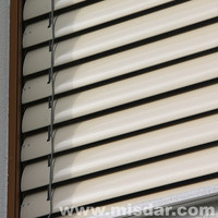 80mm External Motorized Venetian Blinds