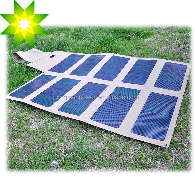 Solar 12v Flexible 12v Flexible Foldable Solar