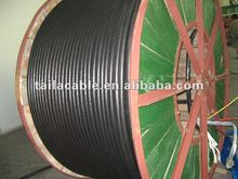XLPE/PVC electrical cable with IEC 60502