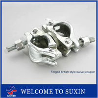 Pressed Limpet Coupler Quick Coupler for construction !Forged british style swivel coupler