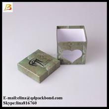 Custom made printed creative paper box cardboard gift box with lid and clear window