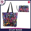 China hot sale waterproof foldable calico unisex laminated beach bag