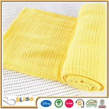 100% Cotton Weave Baby Blanket
