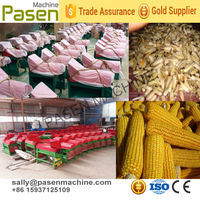 factory sale sweet corn husking machine / corn husking machine / corn husk peeling machine