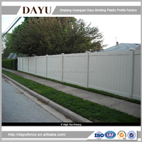 China Wholesale High Quality Boundary Privacy Fence