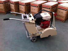 Portable Road Cutter, Concrete Saw with Honda engine