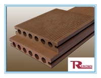 WPC floor,WPC Decking Board,WPC Decking Floor,WPC Hollow Floor RH01E