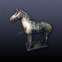 Antique collectible horse statues replica