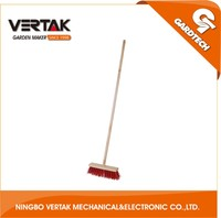 Hot selling wooden handle outdoor floor brush