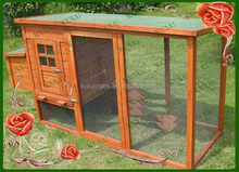 factory wholesale cheap outdoor large wooden chicken coop with run