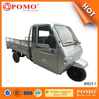 Peru Popular Full Closed Driver Cabin 250CC Water Cooled Adult Tricycle For Cargo