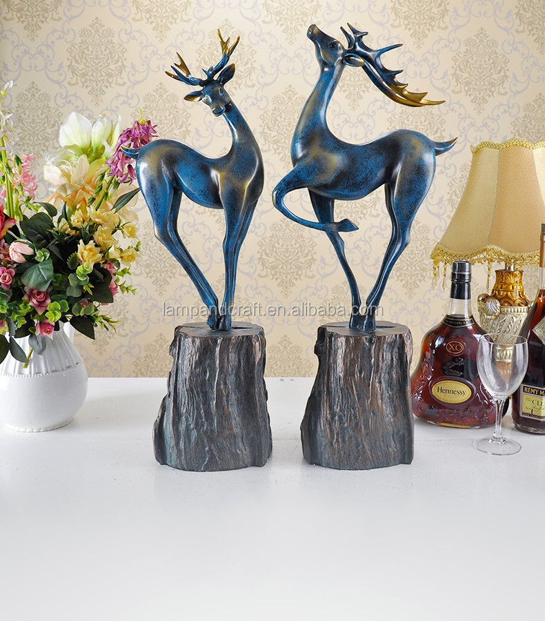 2016 3d animals china home decor wholesale deer themed for Home decorations wholesale