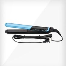 Professional Tstudio Silk Ceramic Flat Iron,1 Inch LCD Display Hair Straightener Blue Color