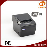 80mm wireless thermal printer with auto cutter RP80