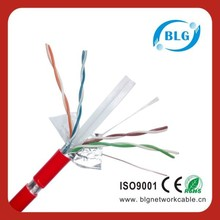 Shenzhen Longgang Cable Factory Cat6 Network Cable Aluminium Foil Shielded