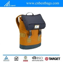 2015 fashion backpack with SGS test report made in CHina