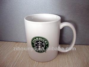 zibo xinyu 10 oz starbucks logo stampa ceramica tazze di caffè