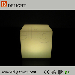 led cube magic/ led glowing chair/ light up led cubic chair