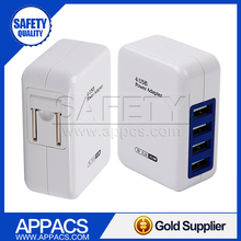 Multi function micro mount usb wall charger travel for Samsung iphone